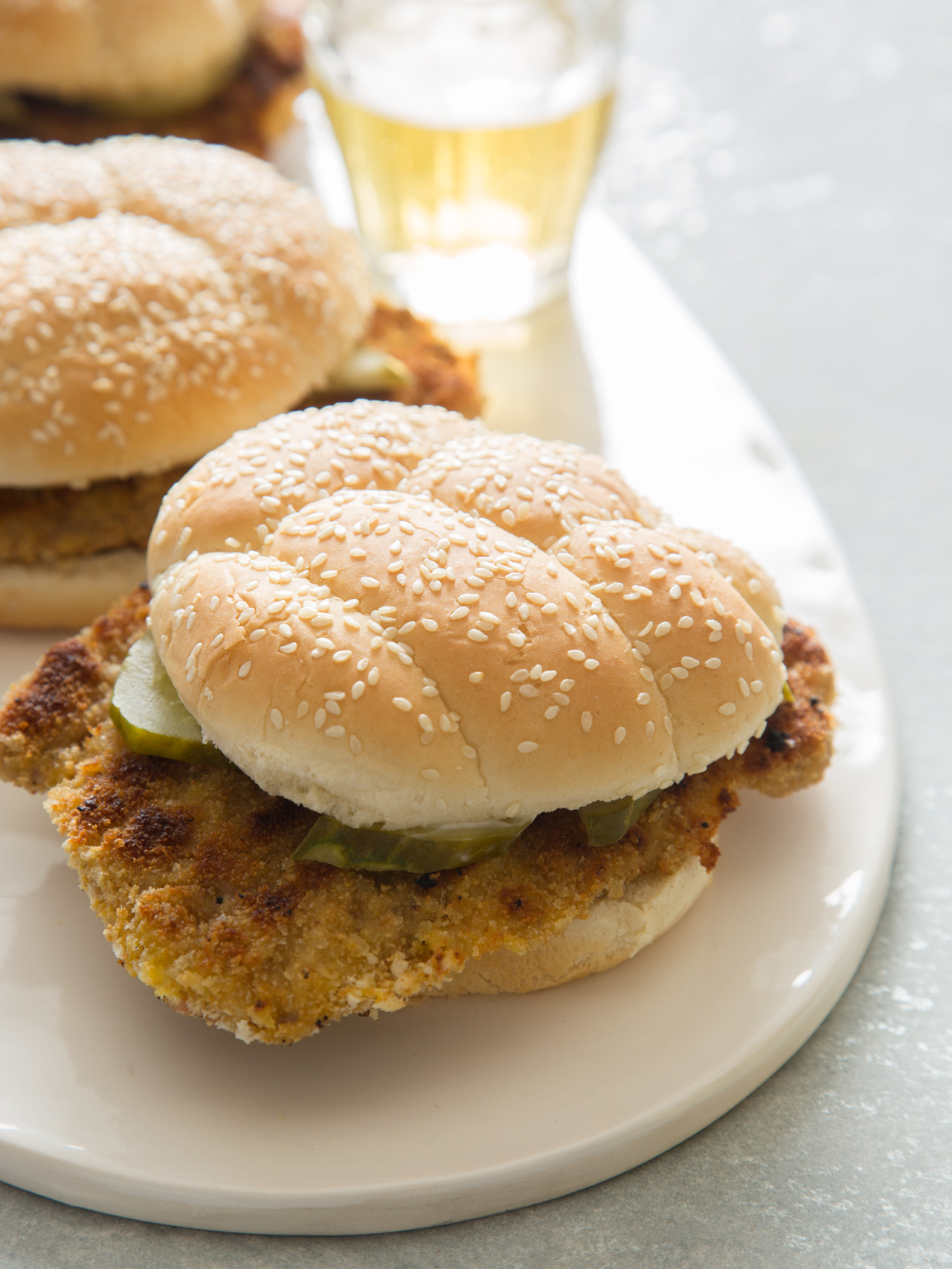 Pork Tenderloin Sandwich