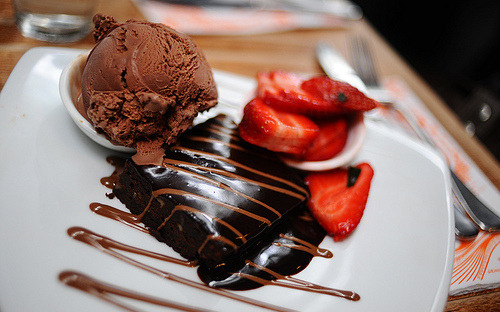 Ice-Cream, Cake, Chocolate