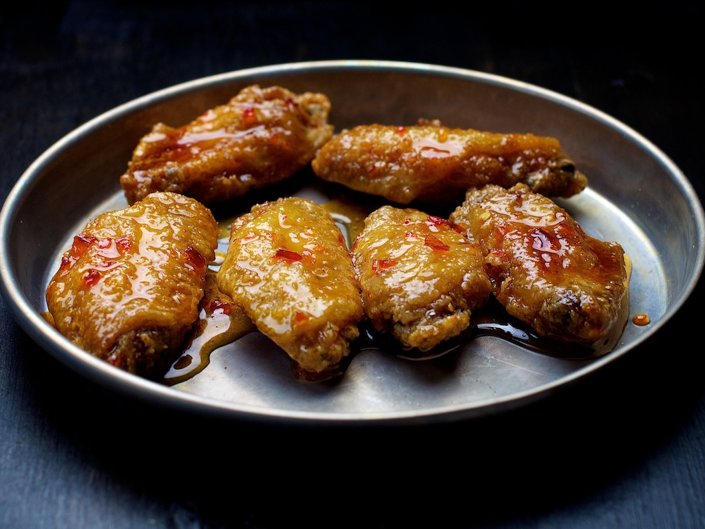 Asian Style Wings (by Edward Sargent)