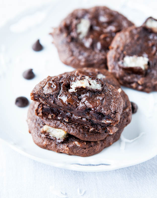 Recipe: Mounds Bar Chocolate Coconut Cake Mix Cookies
