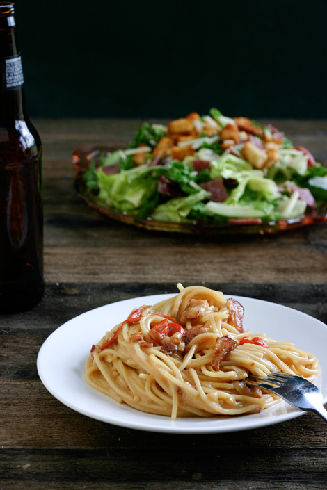 Recipe: Bacon & Beer Carbonara