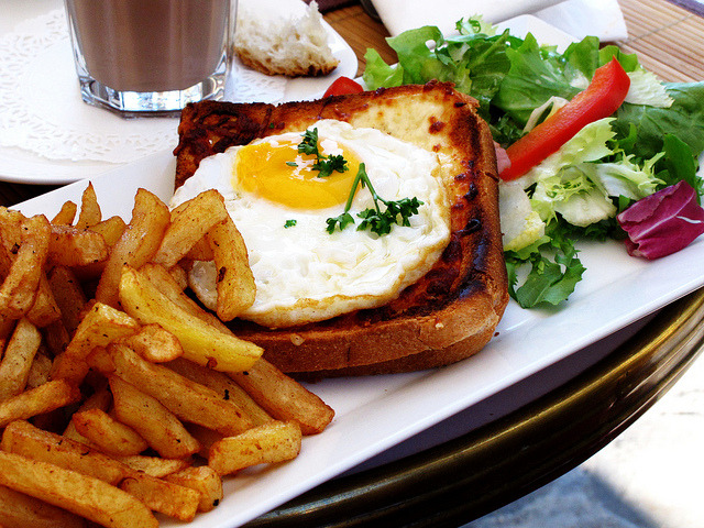 Croque Madame by wEnDaLicious on Flickr.