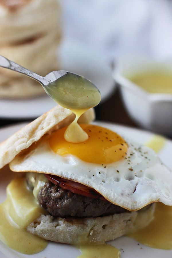 Eggs Benedict Burgers (Cooking For Keeps)