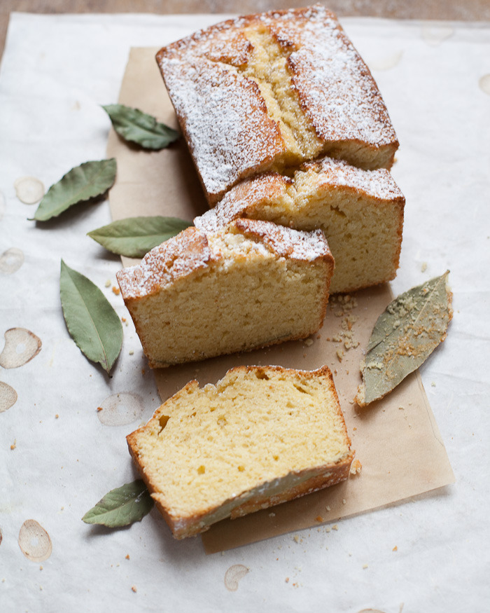 Bay Laurel Pound Cake Family Style Food