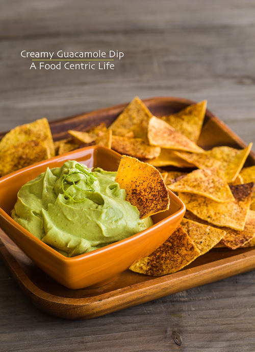 Quick and Creamy Guacamole Dip
