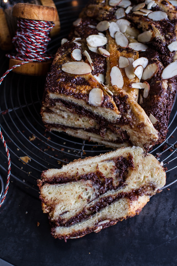 Salted Chocolate and Marzipan Babka